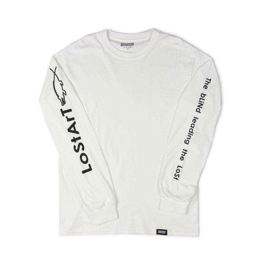 Saved L/S Tee </br>White