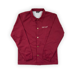 Late Registration Coach Jacket </br>Burgundy