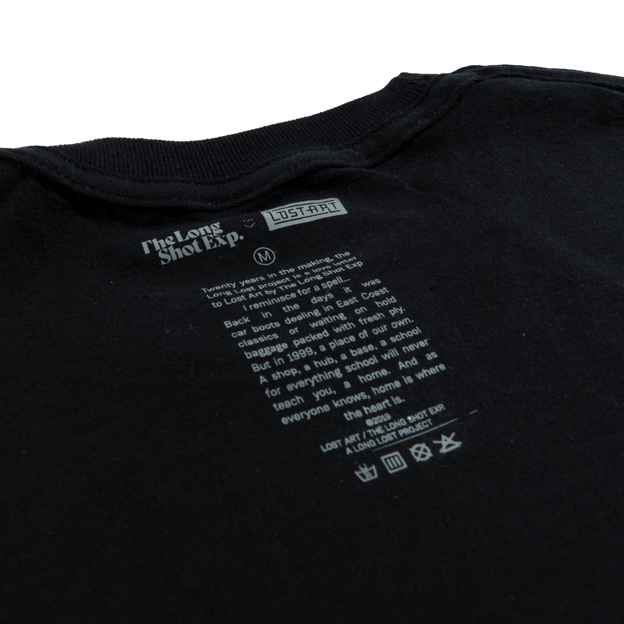 Long Lost Tee </br> Black