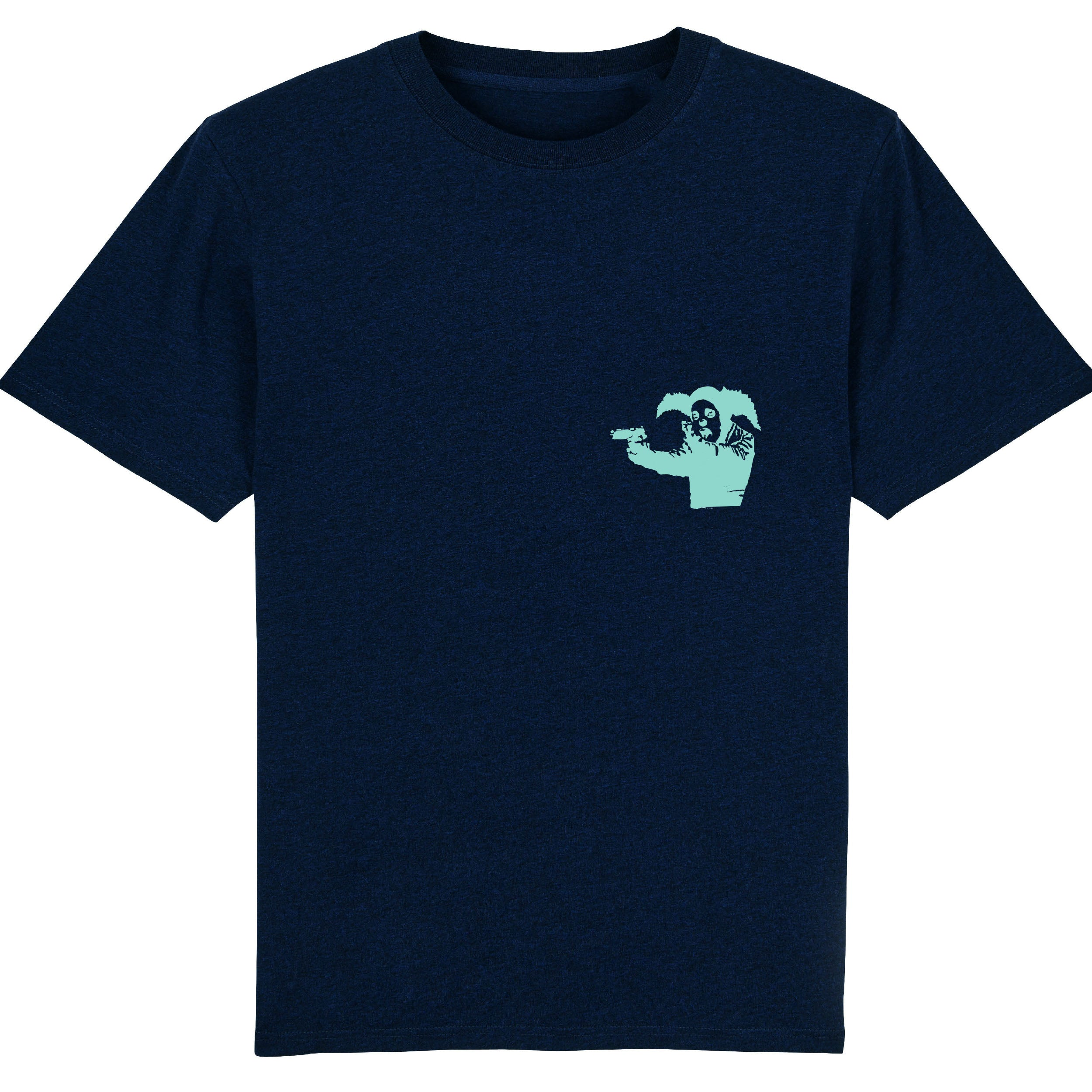 Clown Skateboards - Daily Operation Tee - Navy / Green