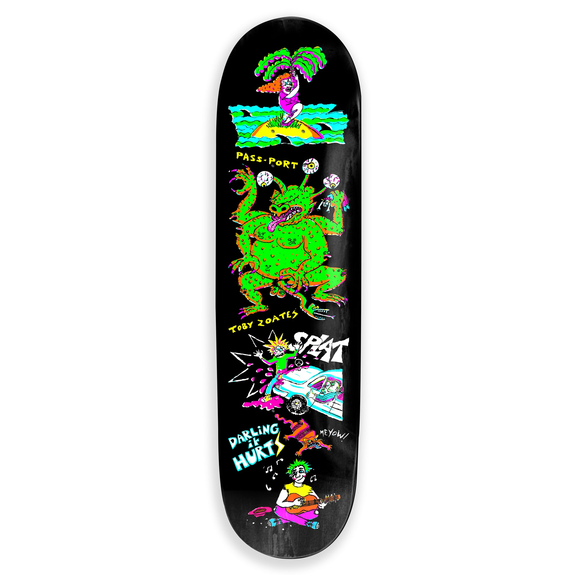 Pass Port - Toby Zoates - Darling deck - 8.25""