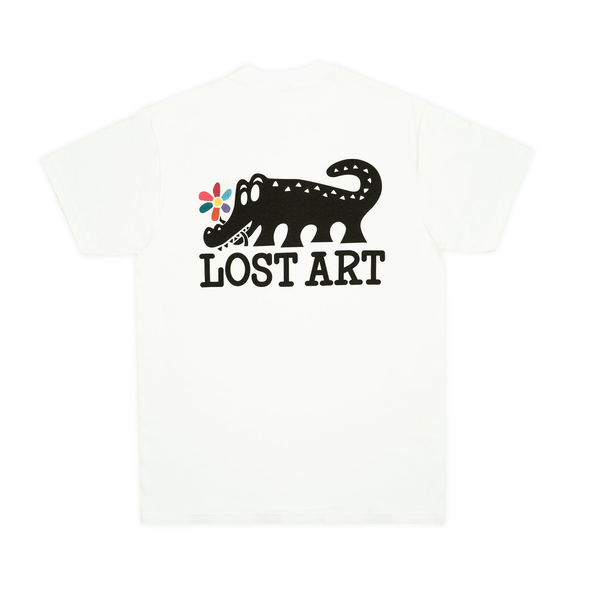 Lost Art -</br>Daisy Age Tee </br> White