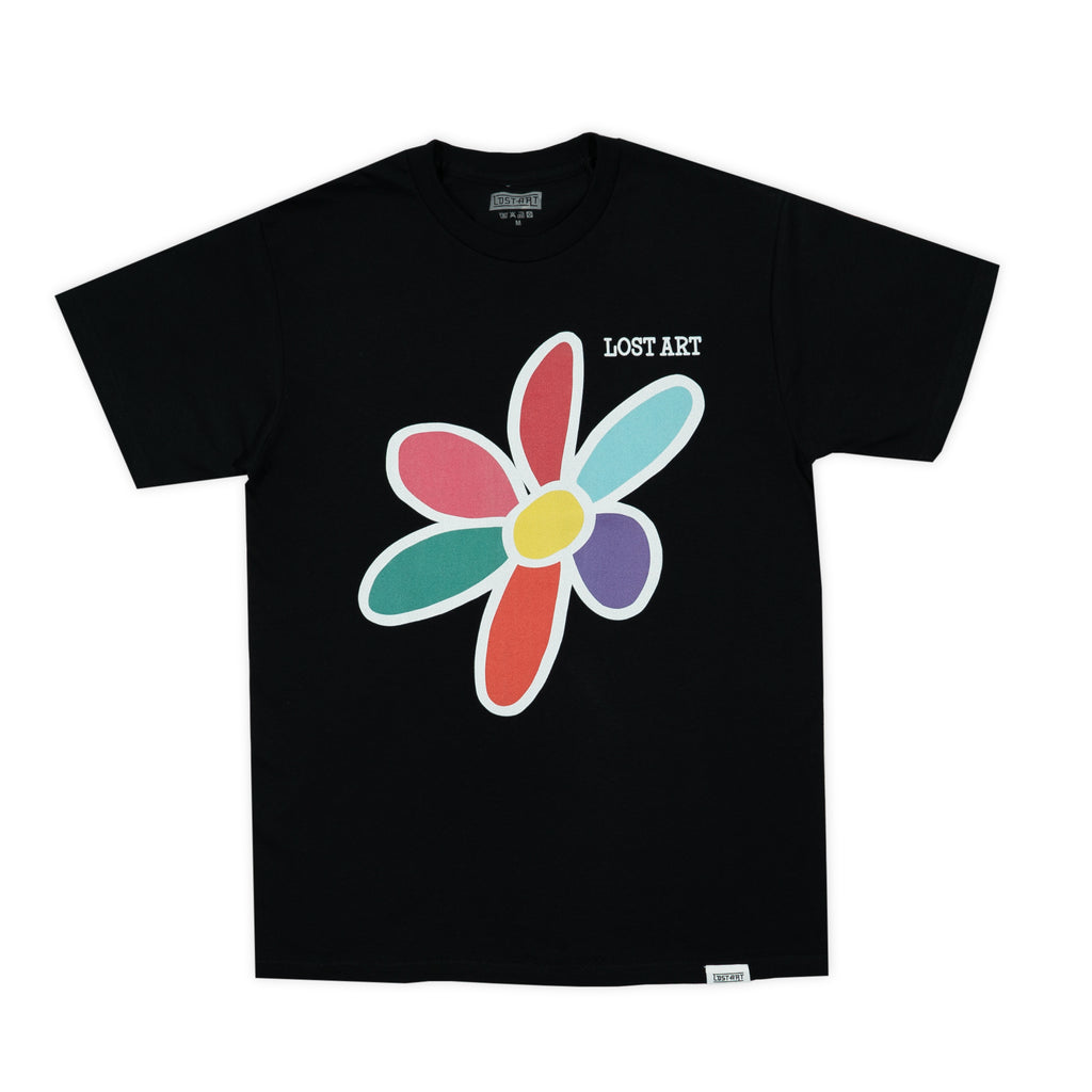 Lost Art -</br>Daisy Tee </br> Black