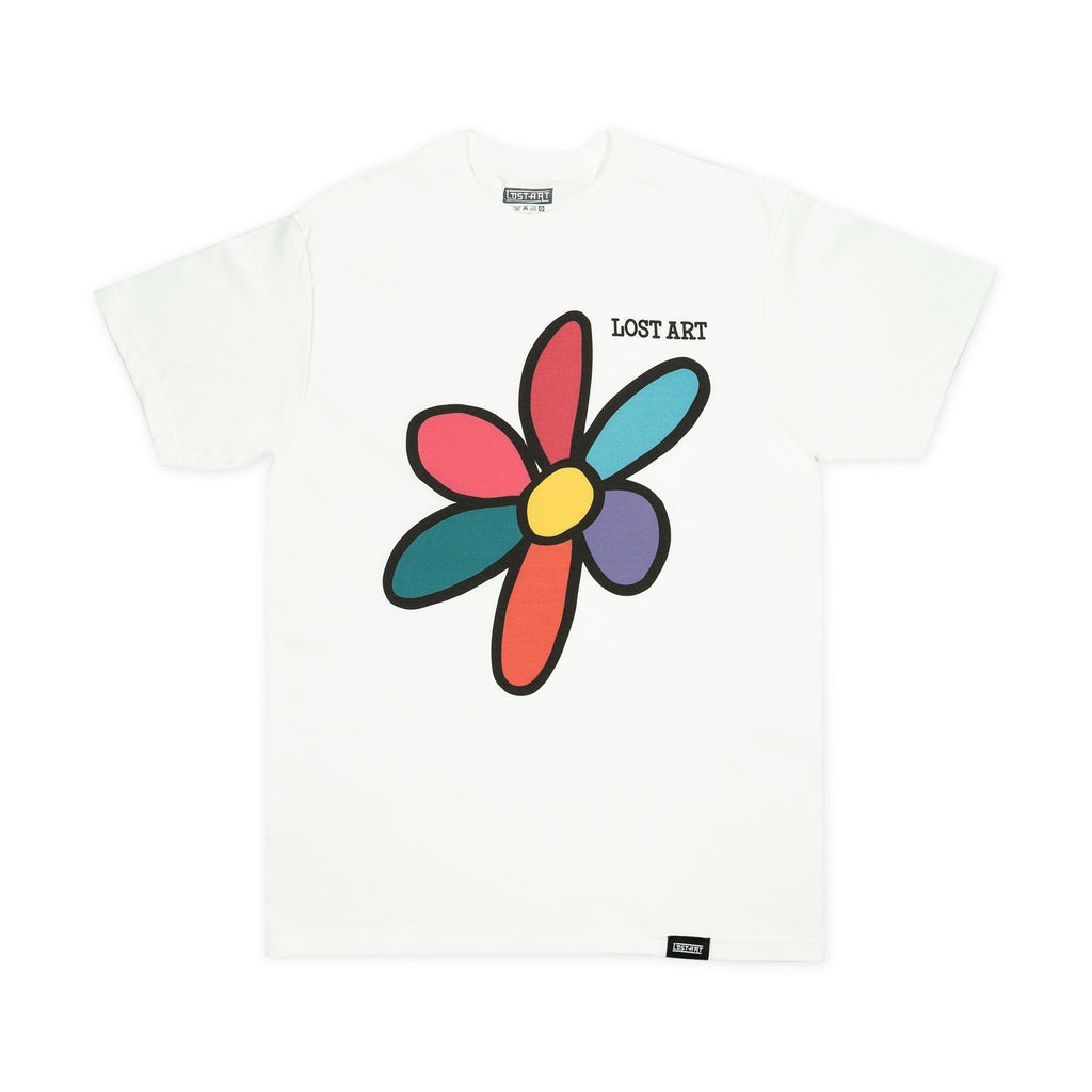 Lost Art -</br>Daisy Tee </br> White
