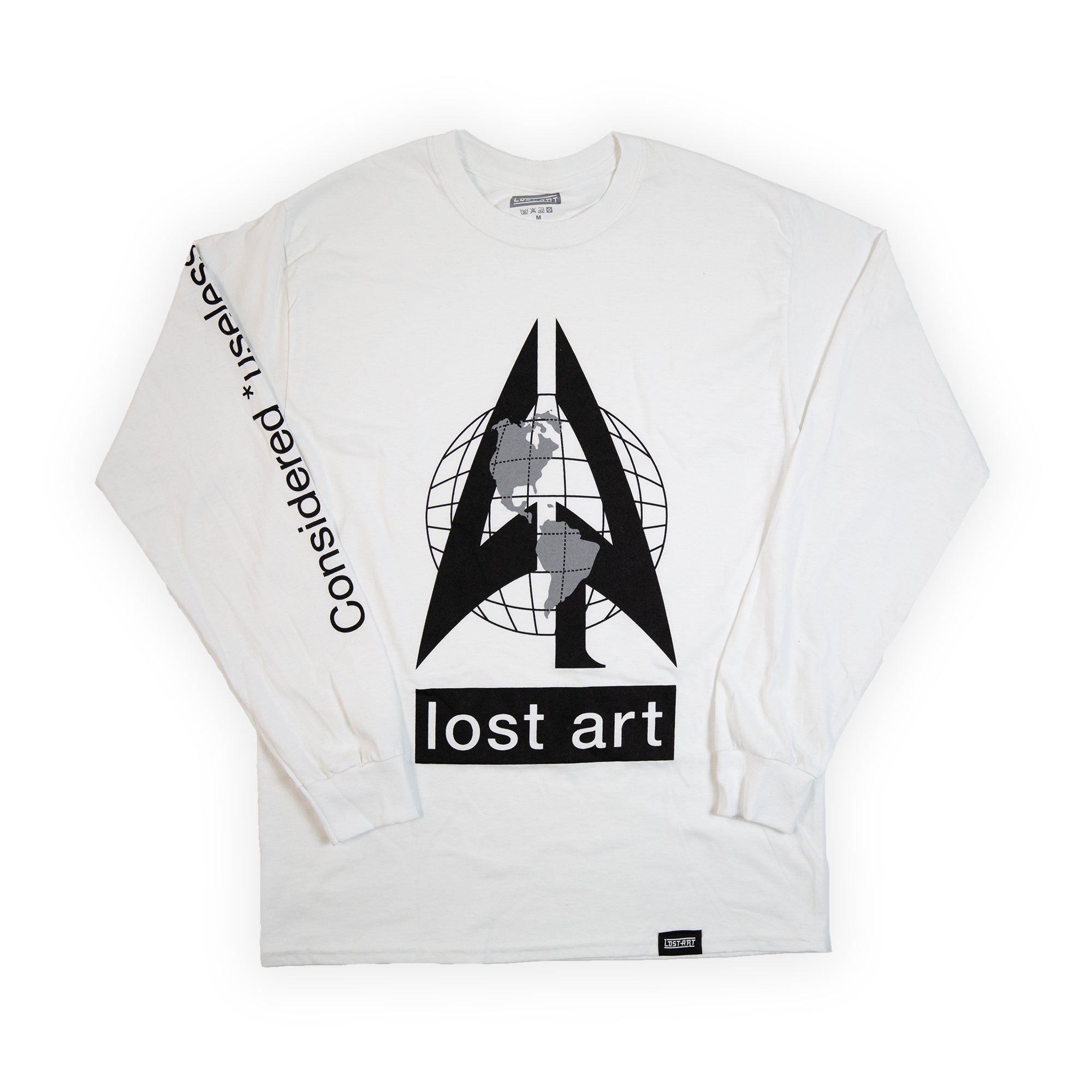 Elephant In The Room L/S Tee </br> White