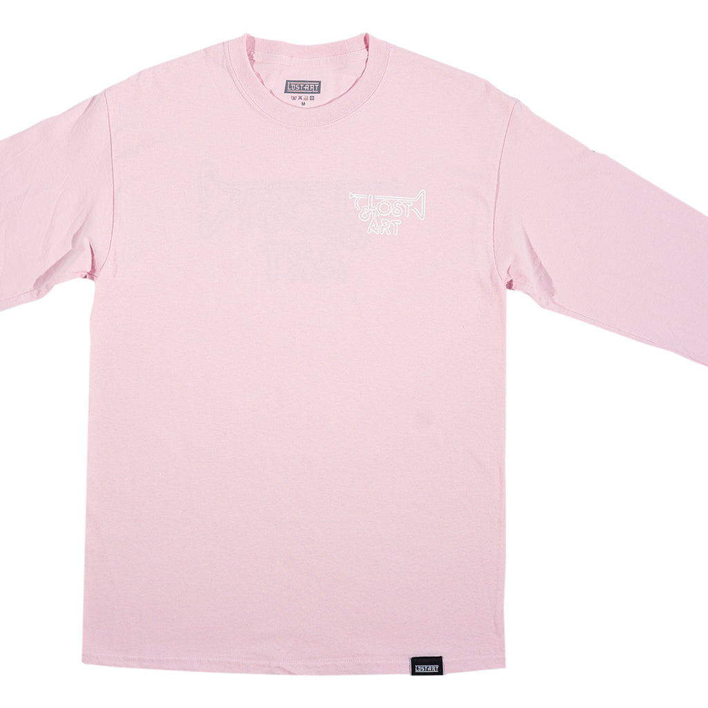 Lost Art -</br>Lost & the Gang Tee L/S </br>Light Pink