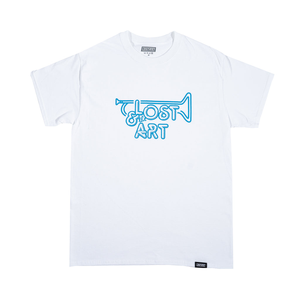 Lost Art -</br>Lost & the Gang Tee S/S </br>White