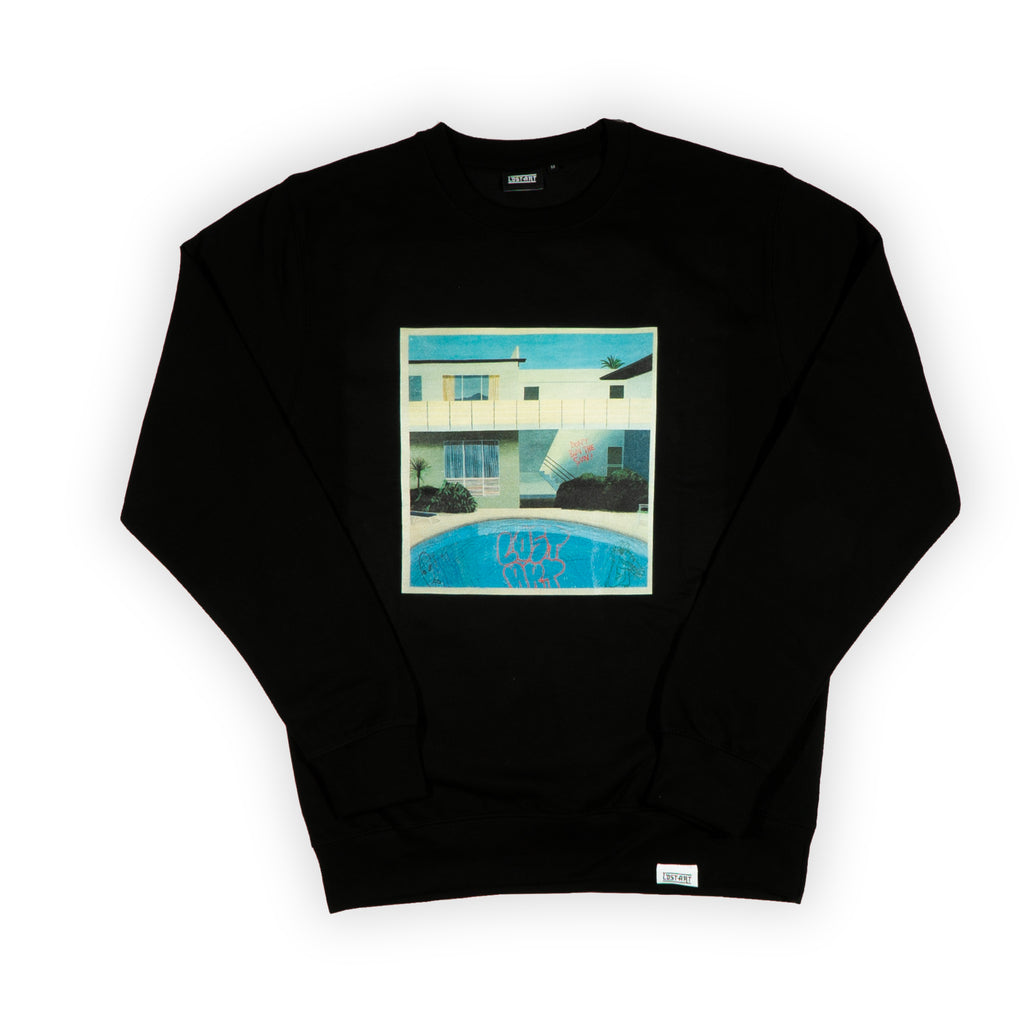 Crockney Crew Neck Sweatshirt </br> Black