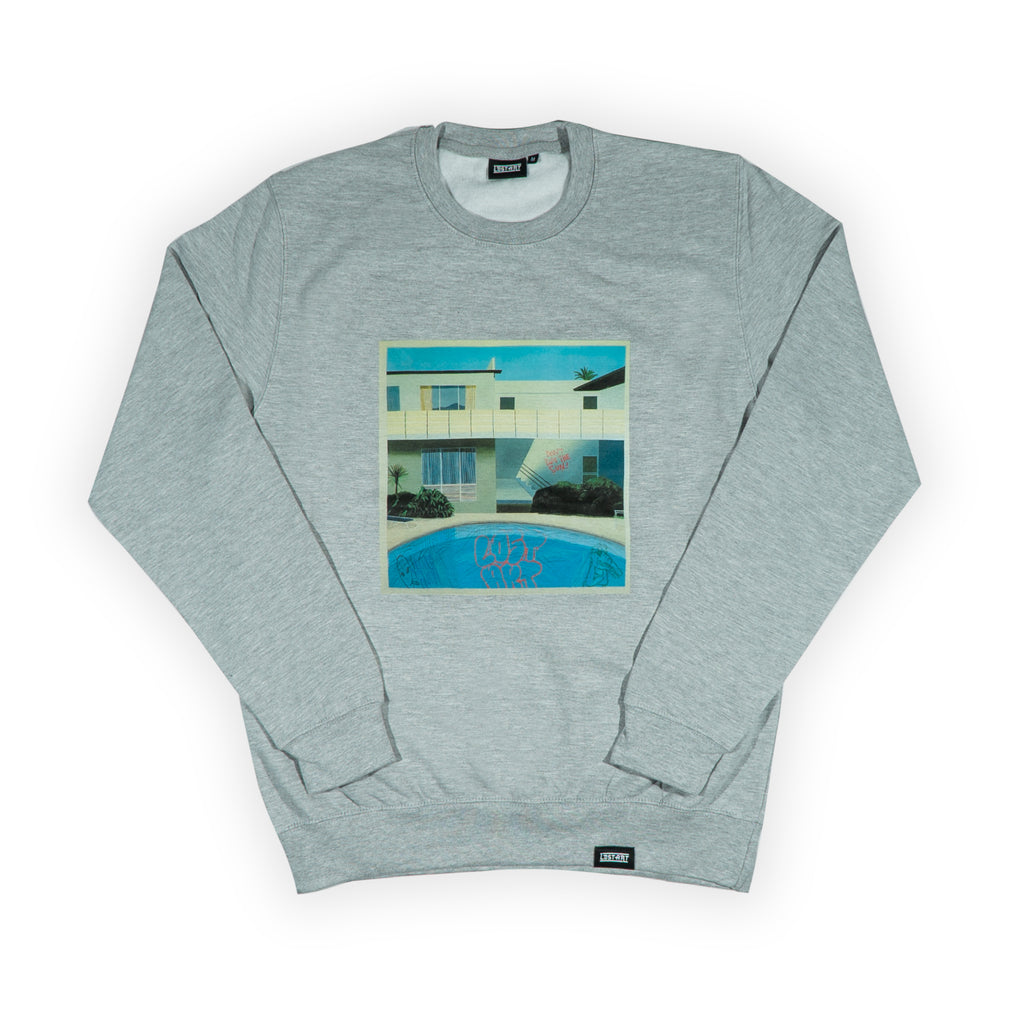 Crockney Crew Neck Sweatshirt </br> Sport Grey