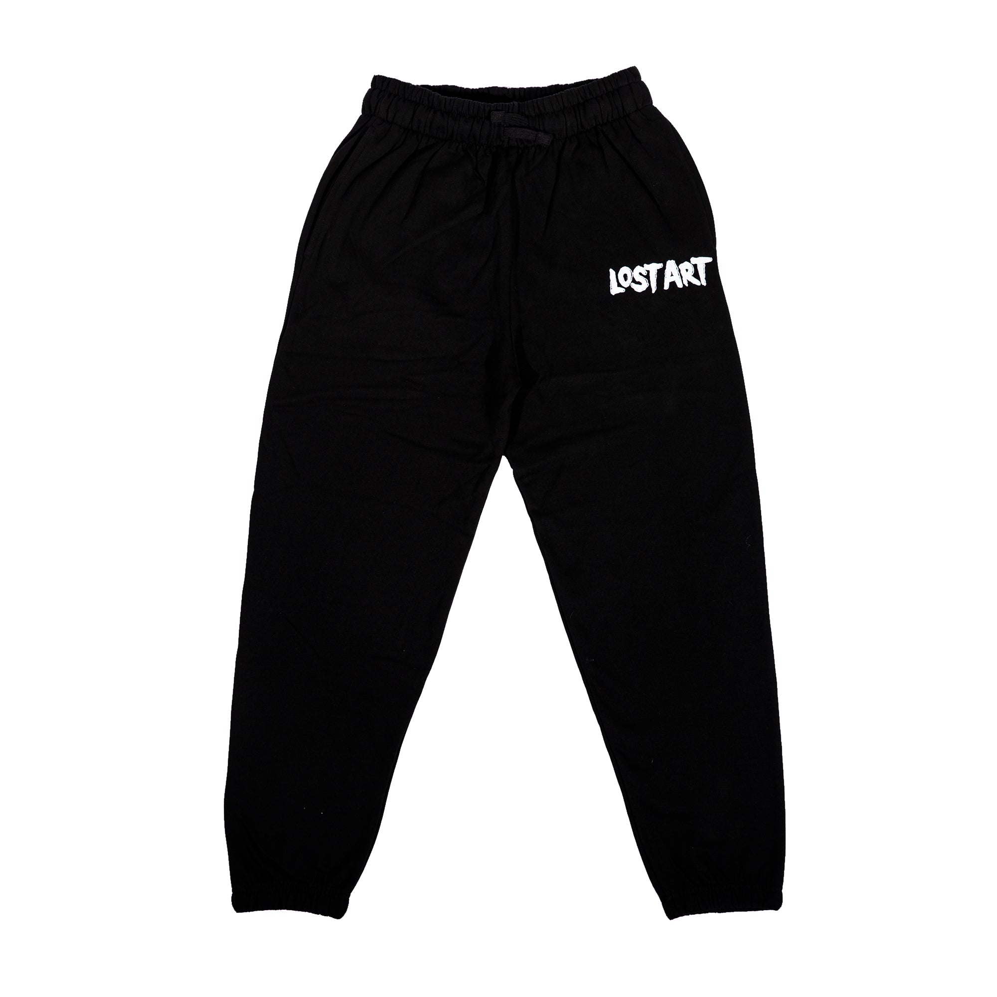 Lost Art -</br>Munster Embroidered Jogger</br>Black