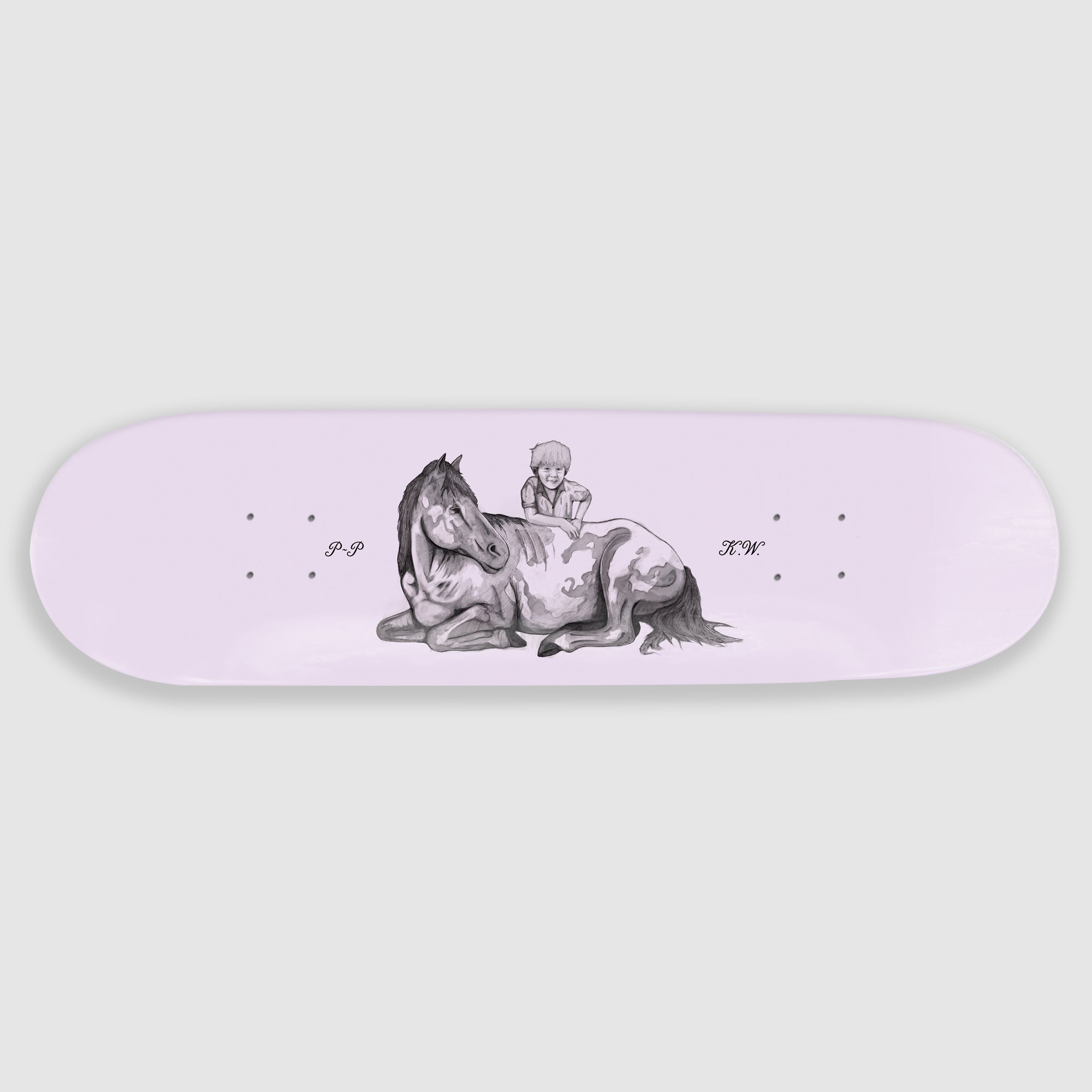 Pass~Port - Singles Series - K.W. Tribute deck - 8.25""