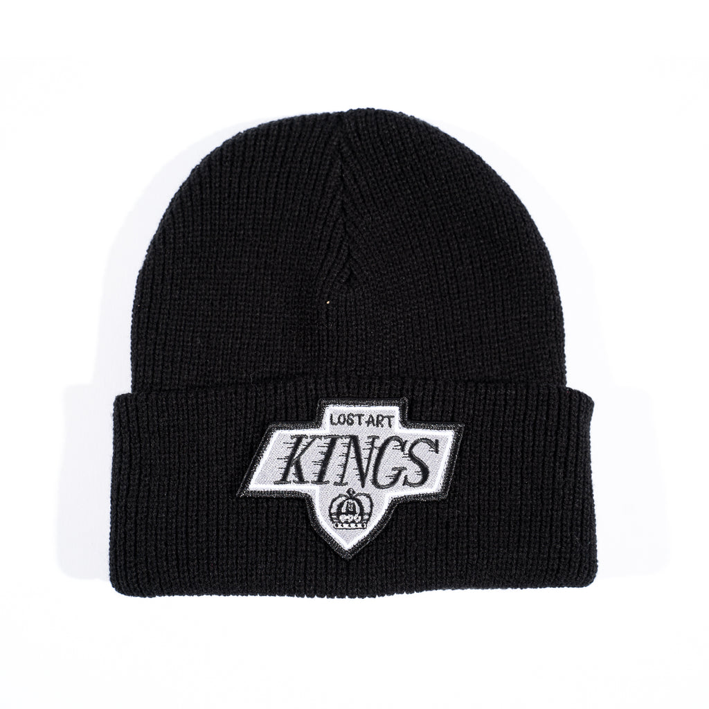 Lost Art -</br>LA Kings Patch Beanie </br>Black