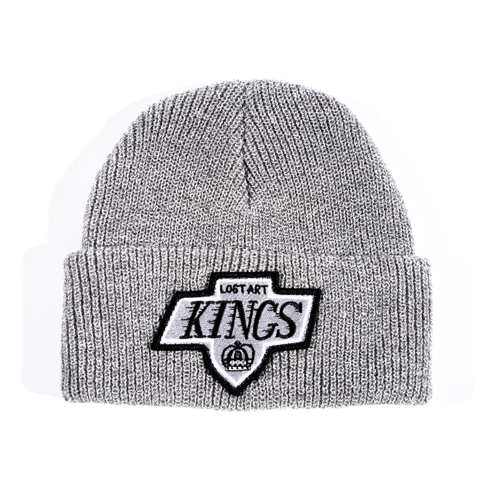 Lost Art -</br>LA Kings Patch Beanie </br>Grey