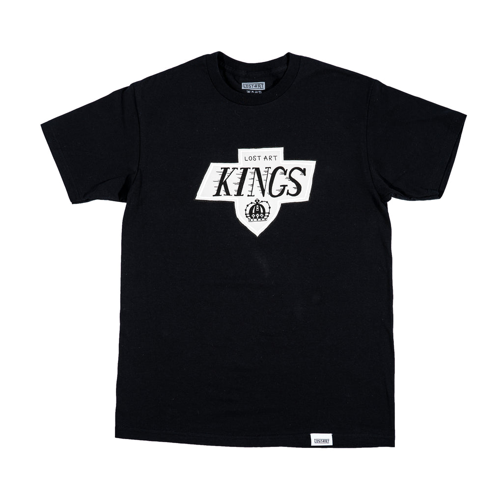 Lost Art -</br>LA Kings Tee S/S </br>Black