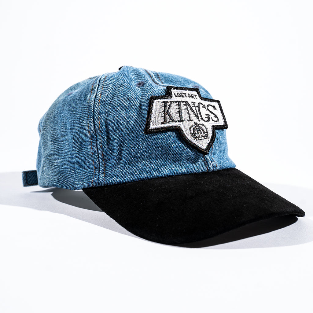 Lost Art -</br>LA Kings Cap </br>Denim/Black