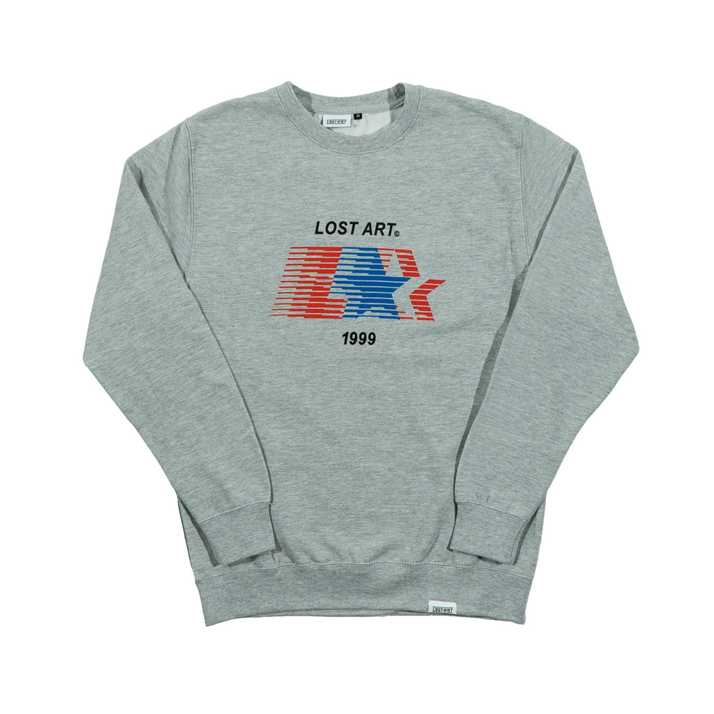 L Star Crew Neck Sweatshirt </br> Sport Grey