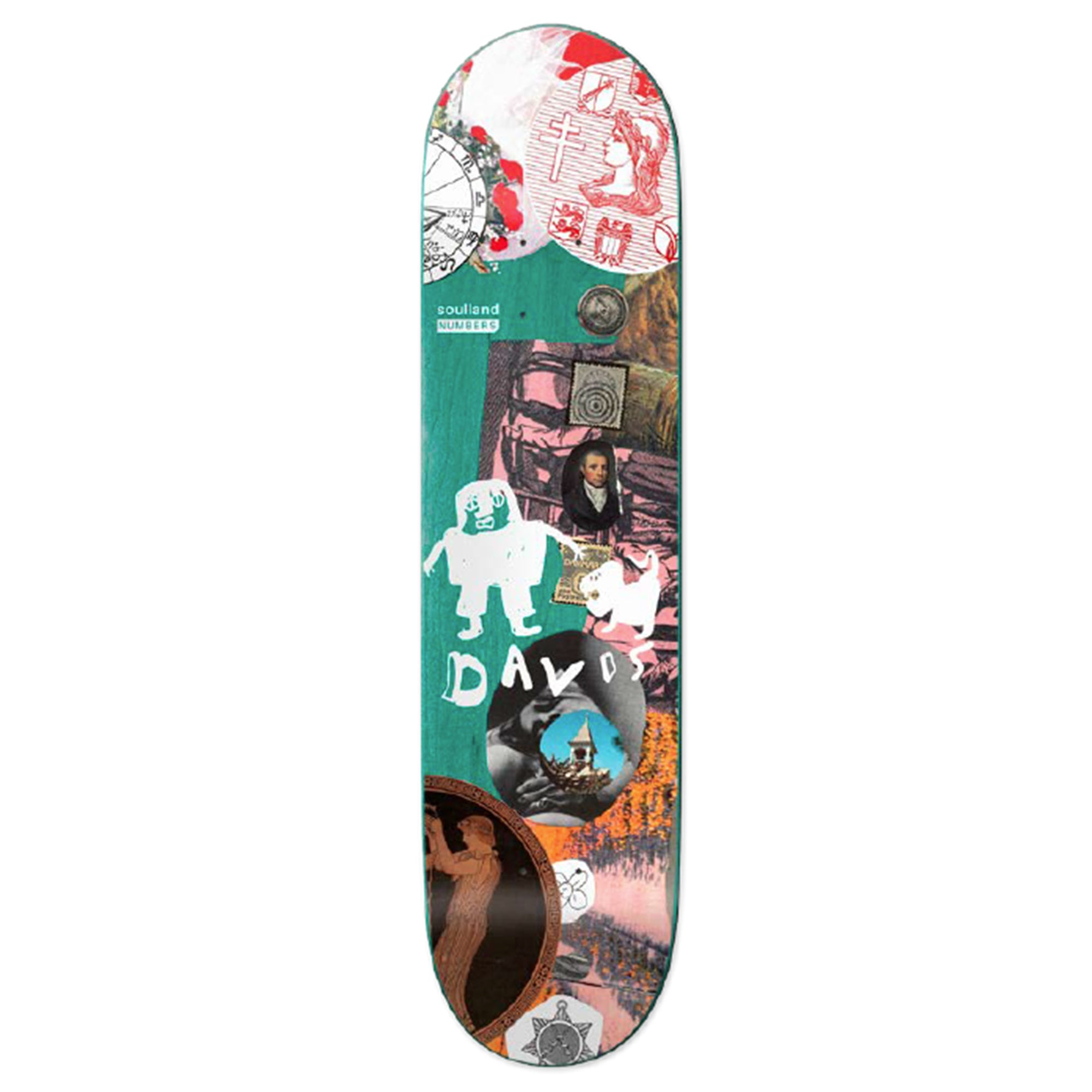 Numbers - Kyron Davis Edition 7 deck - 8.25""