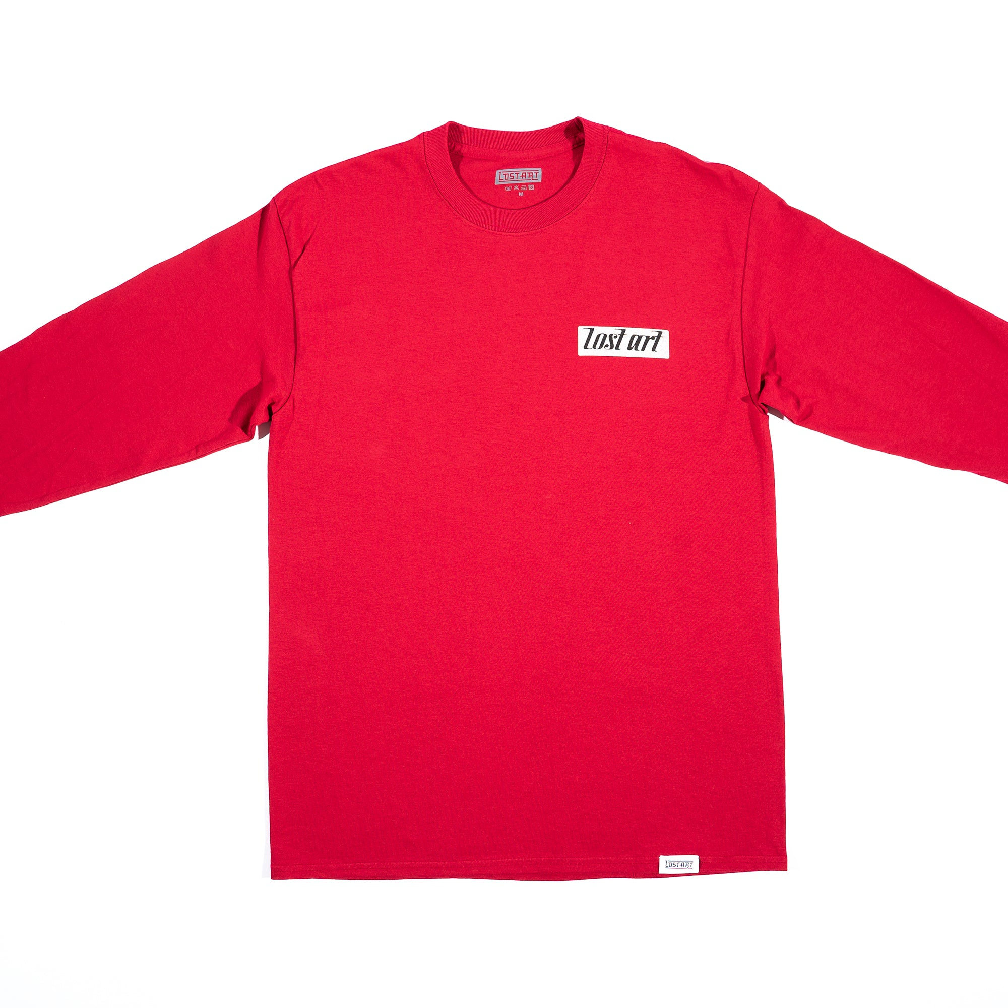 Lost Art -</br>Rhythm Kings Tee L/S </br>Cardinal Red