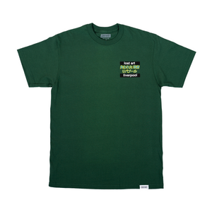 Lost Art -</br>Scouse Girl V2 Tee S/S </br>Forest Green