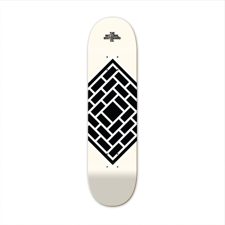 The National Skateboard Co. - Classic Cream - High Concave