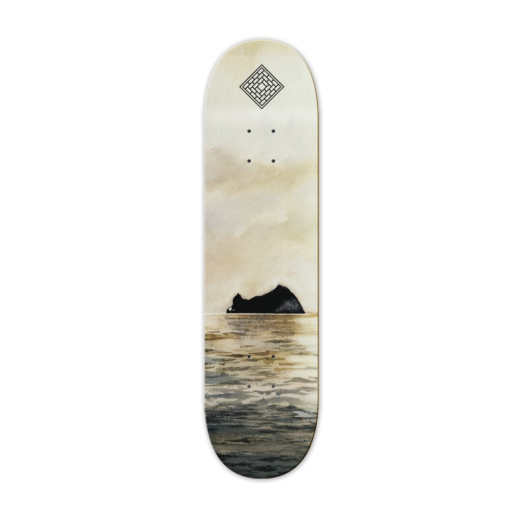 The National Skateboard Co. - Rock - Medium Concave - 8.375""