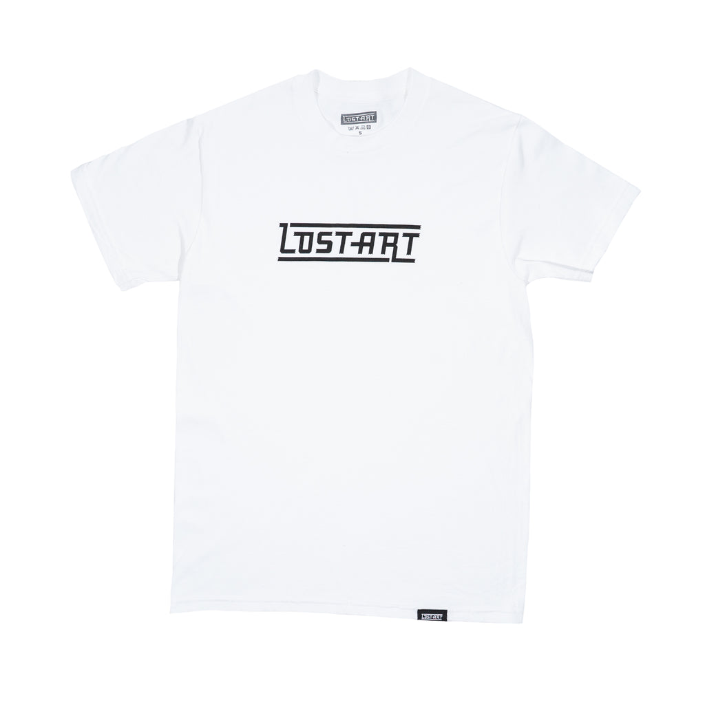 Lost Art -</br>LAgo Tee S/S </br>white