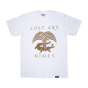 Lost Art -</br>Nimes Tee S/S </br> White