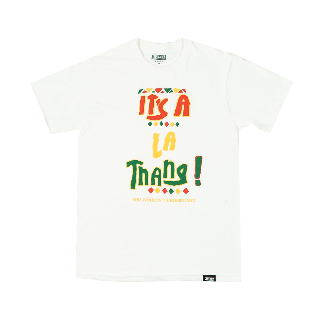 Lost Art -</br>It's a LA Thang Tee </br> White