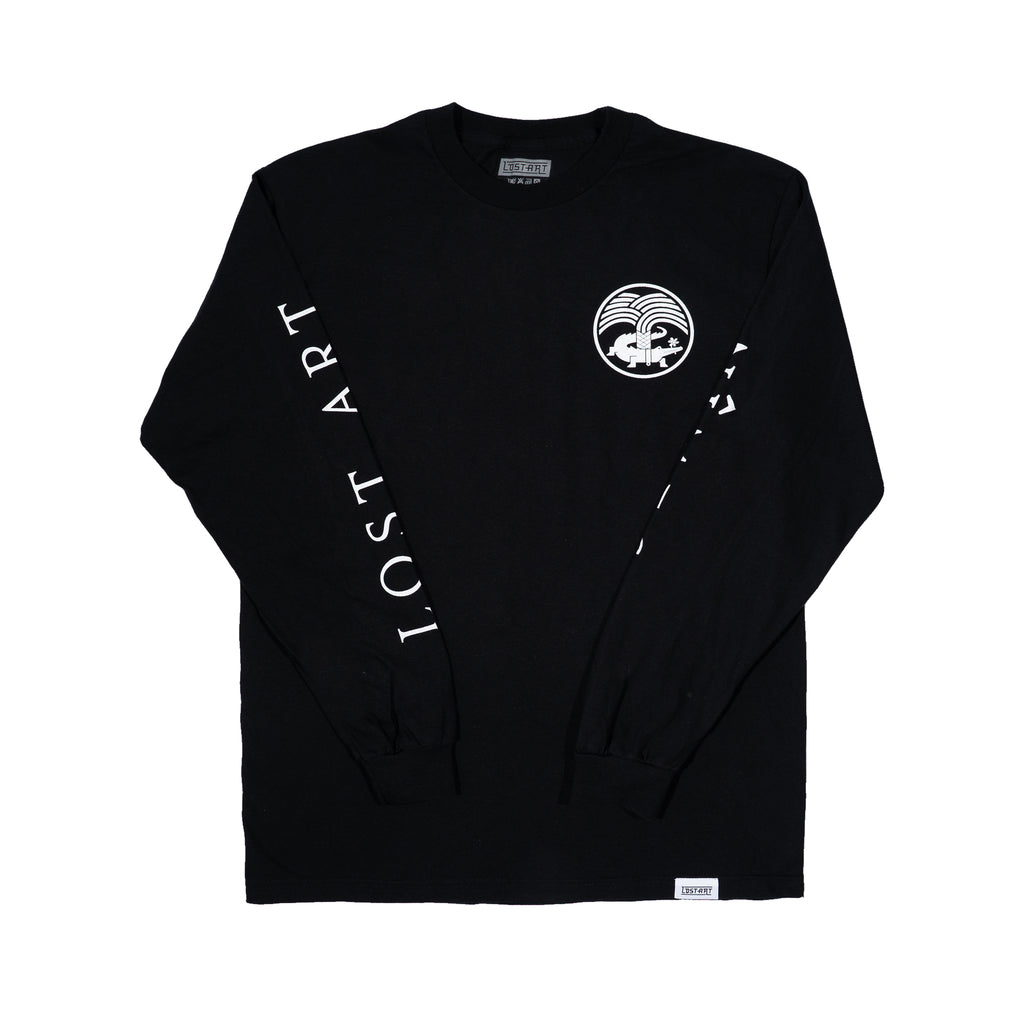 Lost Art -</br>Nimes Tee L/S </br> Black