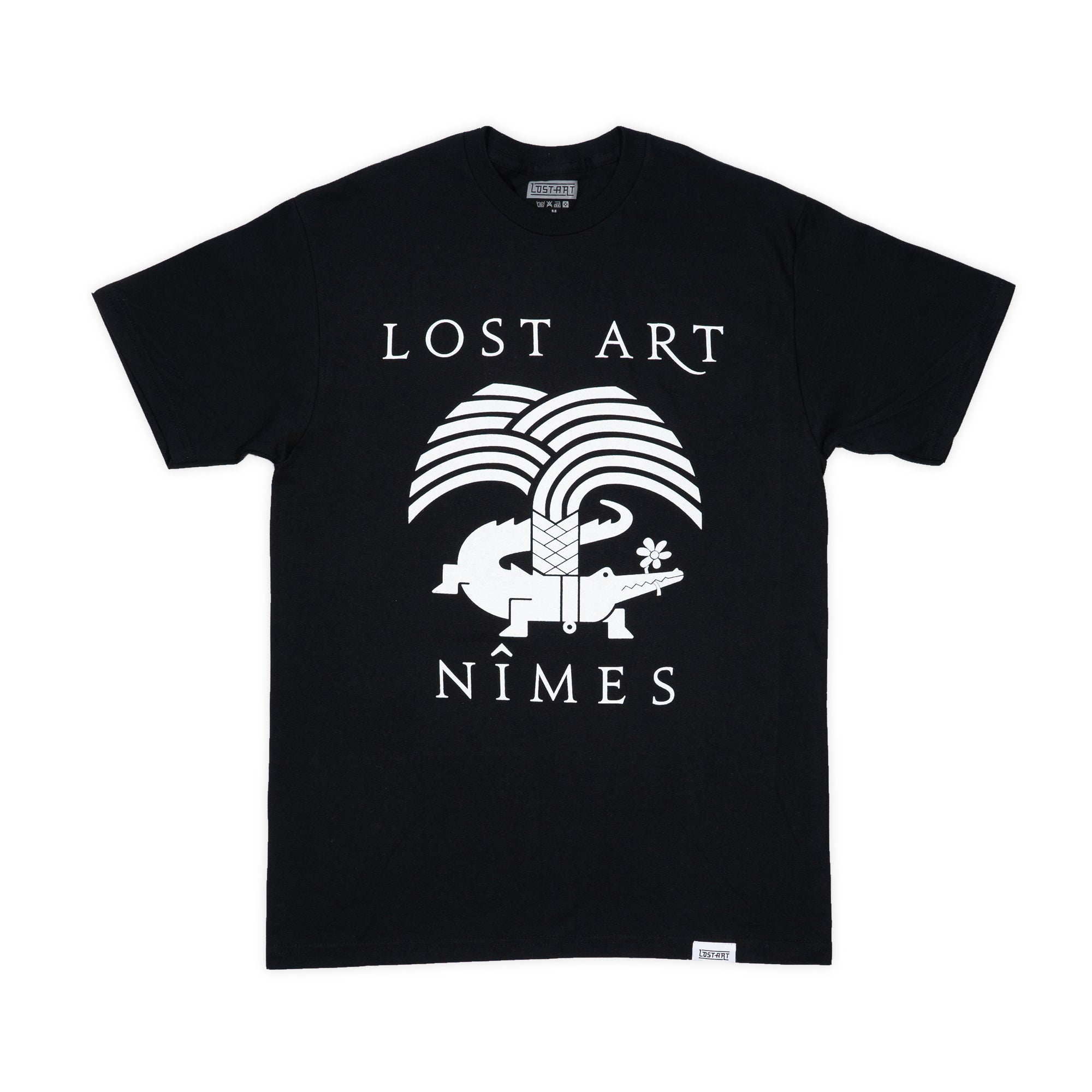 Lost Art -</br>Nimes Tee S/S </br> Black