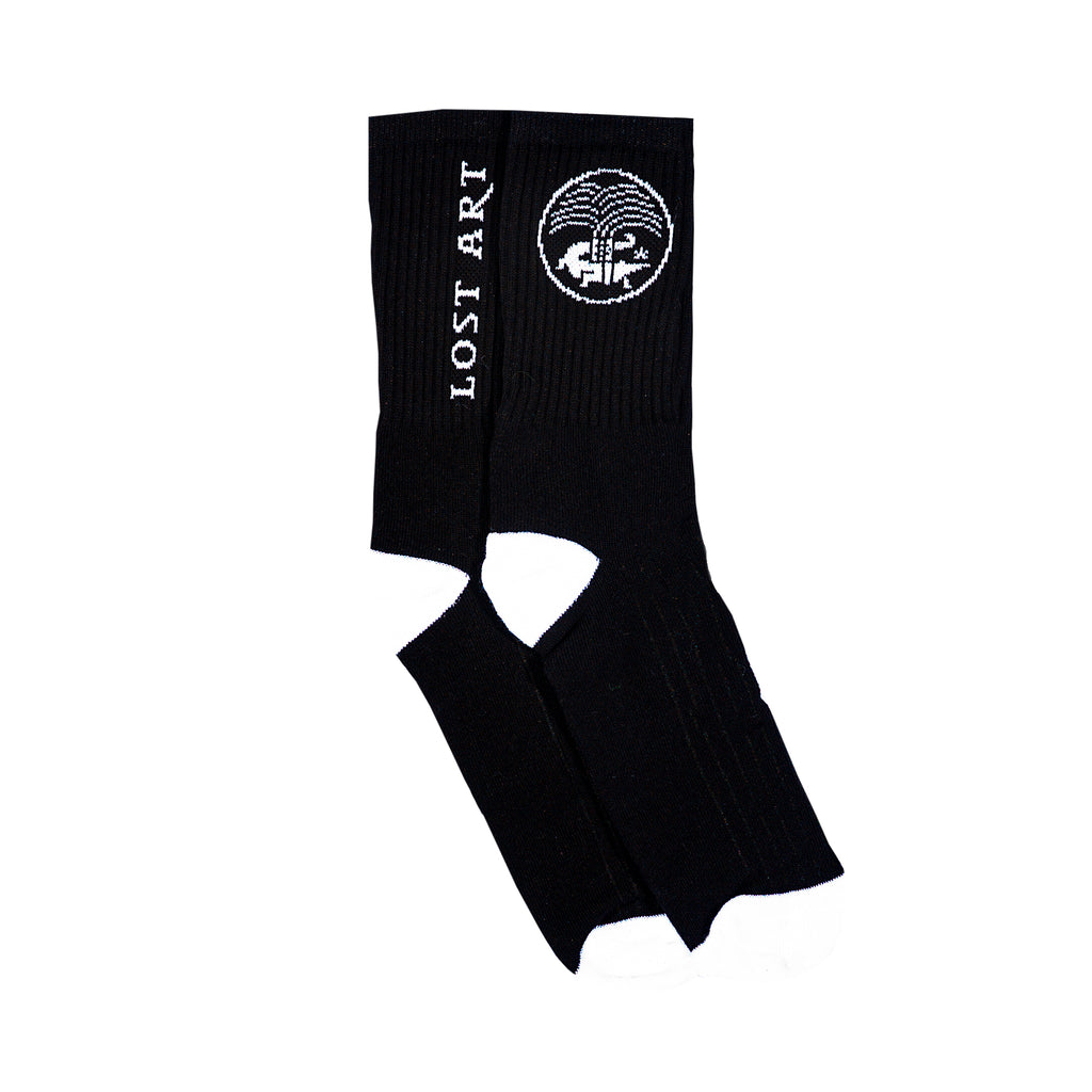 Lost Art -</br>Nimes Socks </br>Black