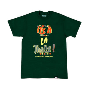 Lost Art -</br>It's a LA Thang Tee </br> Forest Green