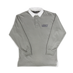 Fineliner Rugby Shirt </br>Slate Grey