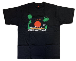 Free Mag - Marrakech Tee </br> Black