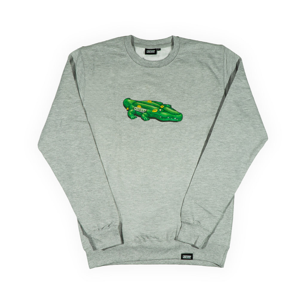 Lie Low Crew Neck Sweatshirt </br> Sport Grey