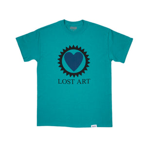 Lost Art -</br>Love is Blind Tee S/S </br> Jade
