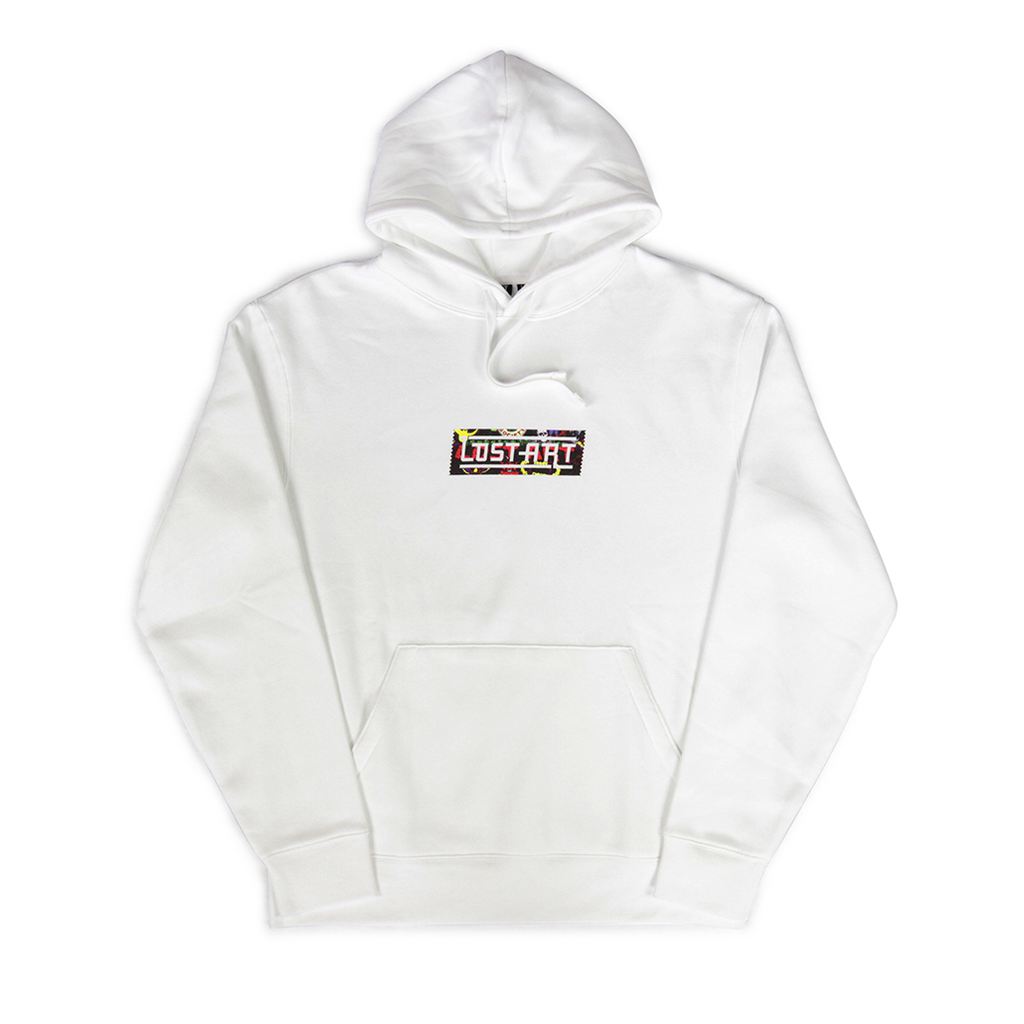 Relax with Pepper LaGO Hoodie </br>White