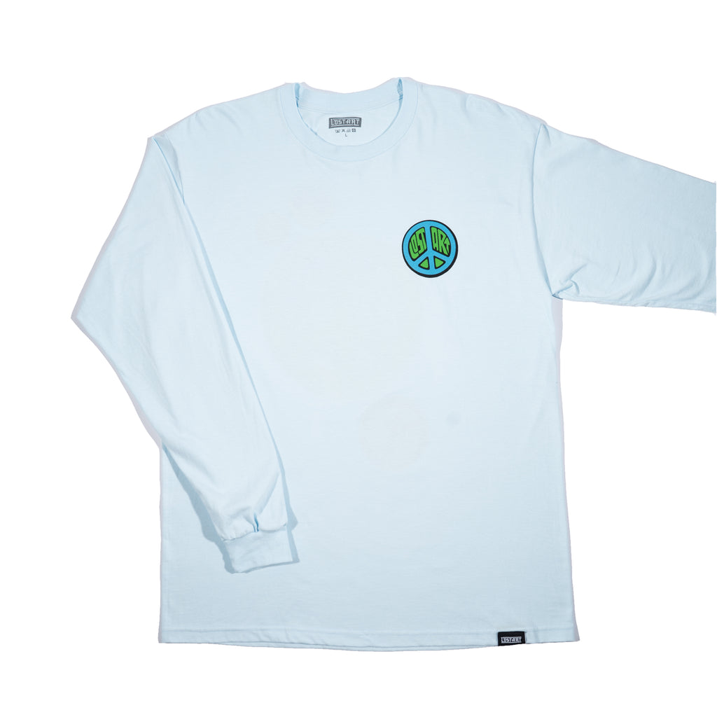 Lost Art -</br>De LA Cero Tee L/S </br>Light Blue
