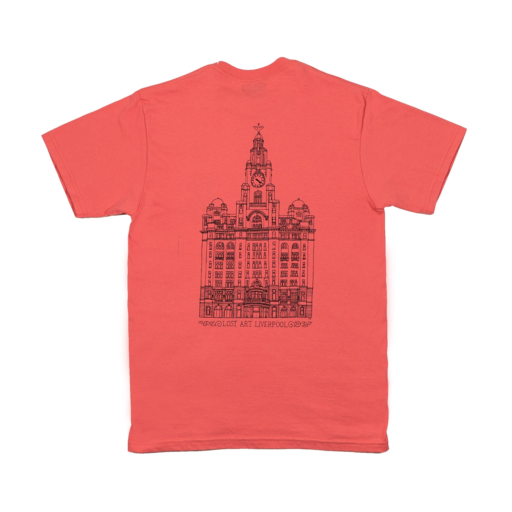 Liver Tee </br> Coral Silk