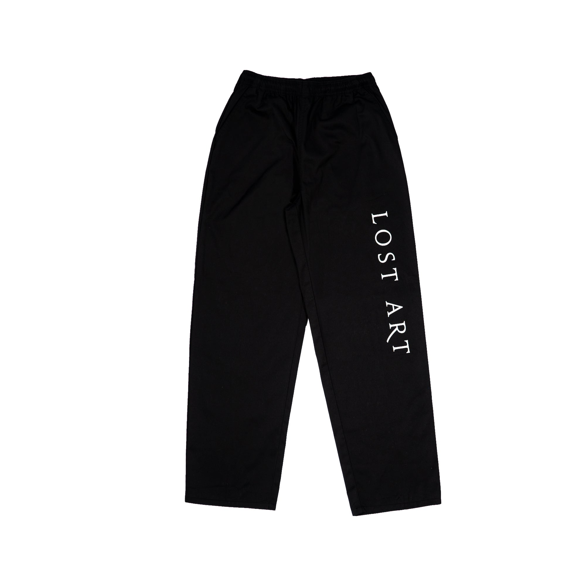 Lost Art -</br>Nimes Relaxed Fit Pant </br> Black