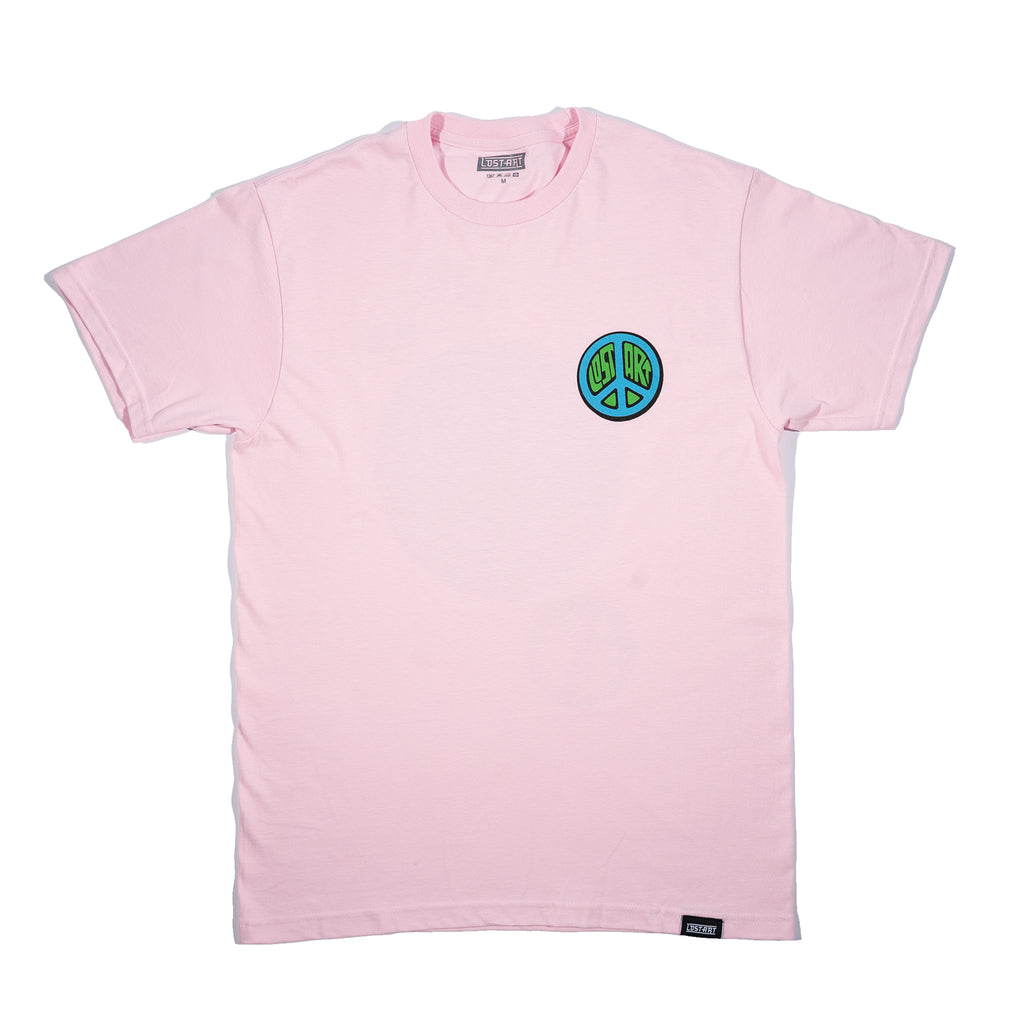 Lost Art -</br>De LA Cero Tee S/S </br>Light Pink