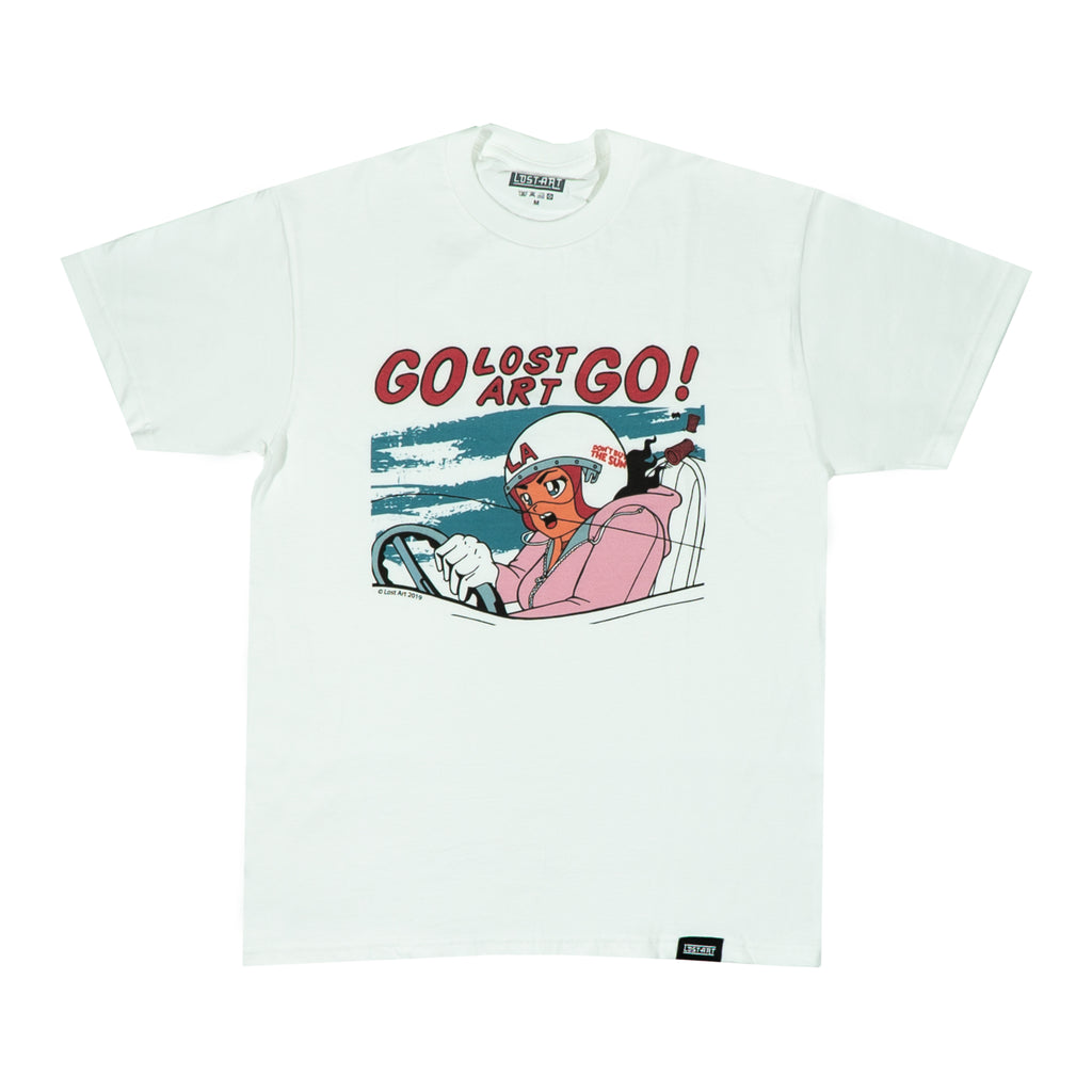 Lost Art -</br>Go Lost Art Go Tee </br> White