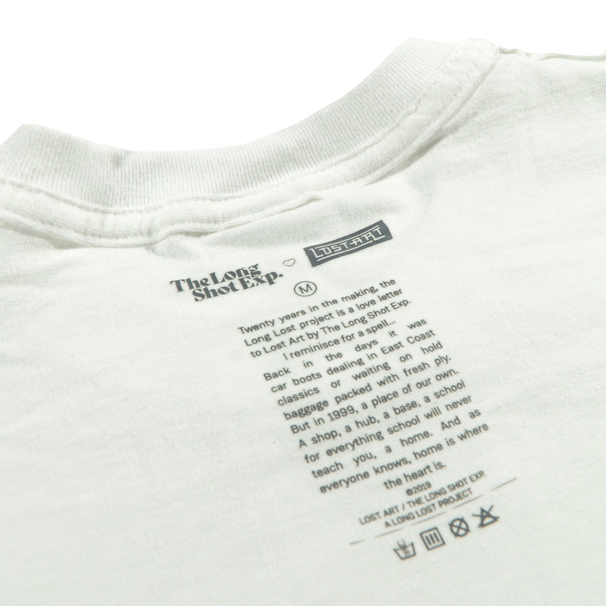 Long Lost Tee </br> White