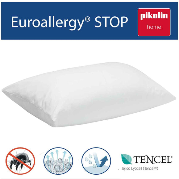 Funda de almohada impermeable y transpirable en Tencel