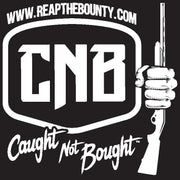 Caught Not Bought Shotgun Decal