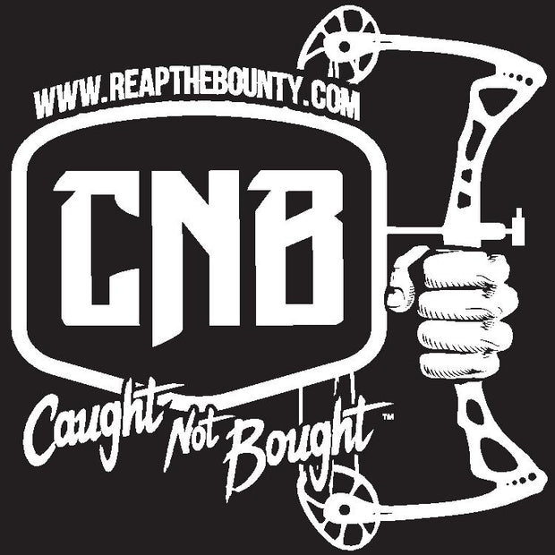 Caught Not Bought Bow Hunting Decal