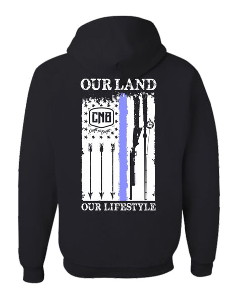 Our Land Thin Blue-line Sweatshirt