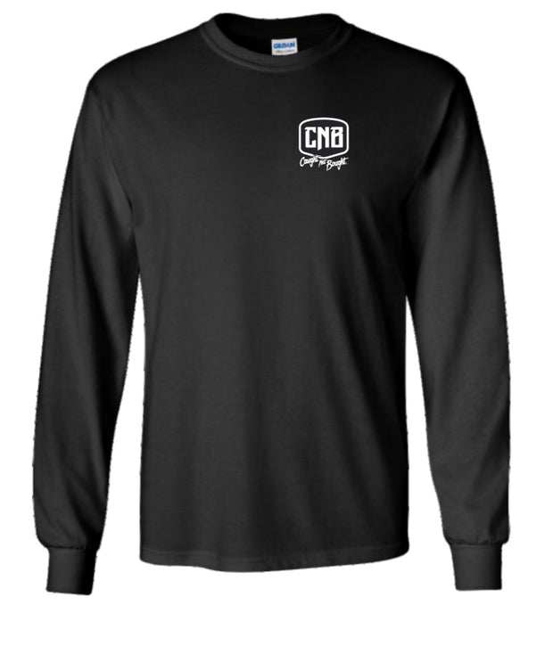 Our Land thin blue line long-sleeve t-shirt