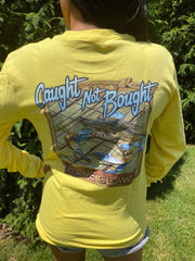 CNB Blue Claw T-shirt (yellow)