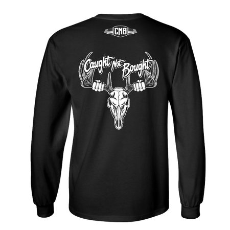 Caught Not Bought Bowhunting Long Sleeve T-Shirt